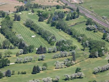 Aerial-fairways